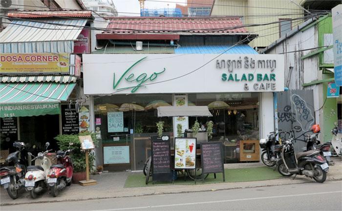 Vego salad bar Phnom Penh