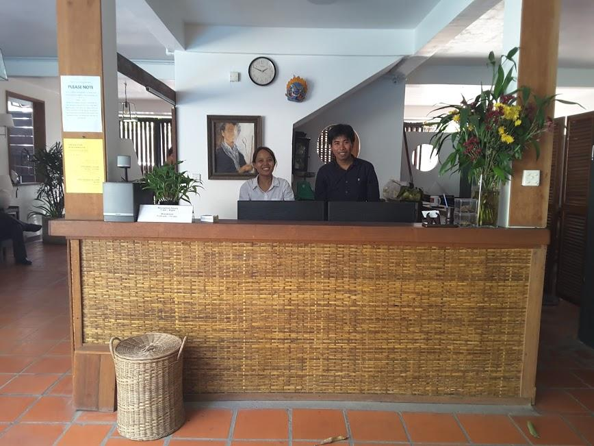 The Front Desk of YK Arthouse