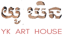 YK Art House light logo