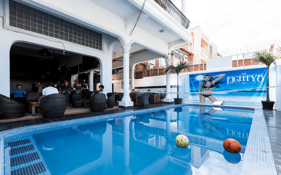 The Eighty8 Hostel in Phnom Penh Cambodia