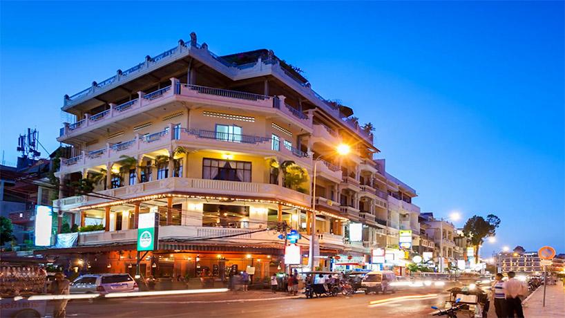 Hotel in Phnom Penh Cambodia.