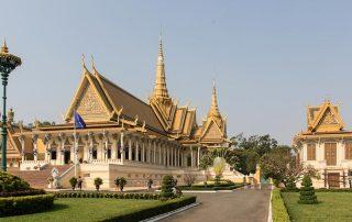 the Phnom Penh Royal Palace in Cambodia